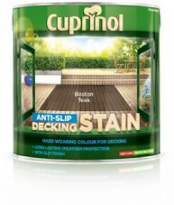 Cuprinol Anti Slip Decking Stain 2.5L - Boston Teak